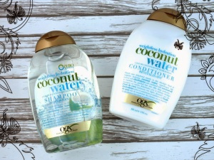 OGX Weightless Hydration Coconut Water Shampoo and Conditioner Review
