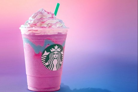 Starbucks unicorn frappuchino Credit: Starbucks